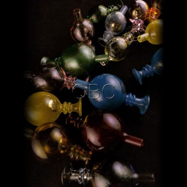 Quatz pi, bubblecaps, sphere, cap